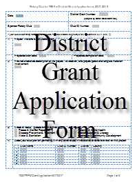 Grant Report Form | Rotary District 7690 Piedmont North Carolina Usa